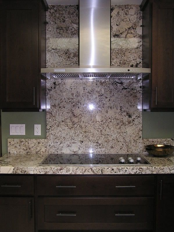 granite back splash full granite backsplash to have or not