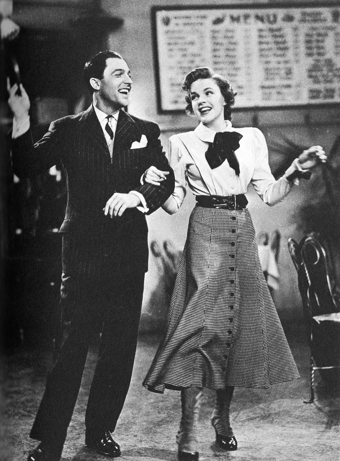 Gene Kelly and Judy Garland in For Me and My Gal, 1942. S ...