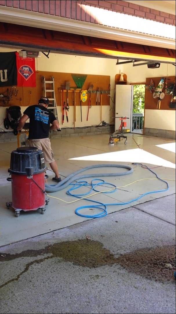 Garage Floor Coating Contractor Premier Concrete Columbus Ohio Epoxy Garage Floor Coatings Garage Floor Flooring