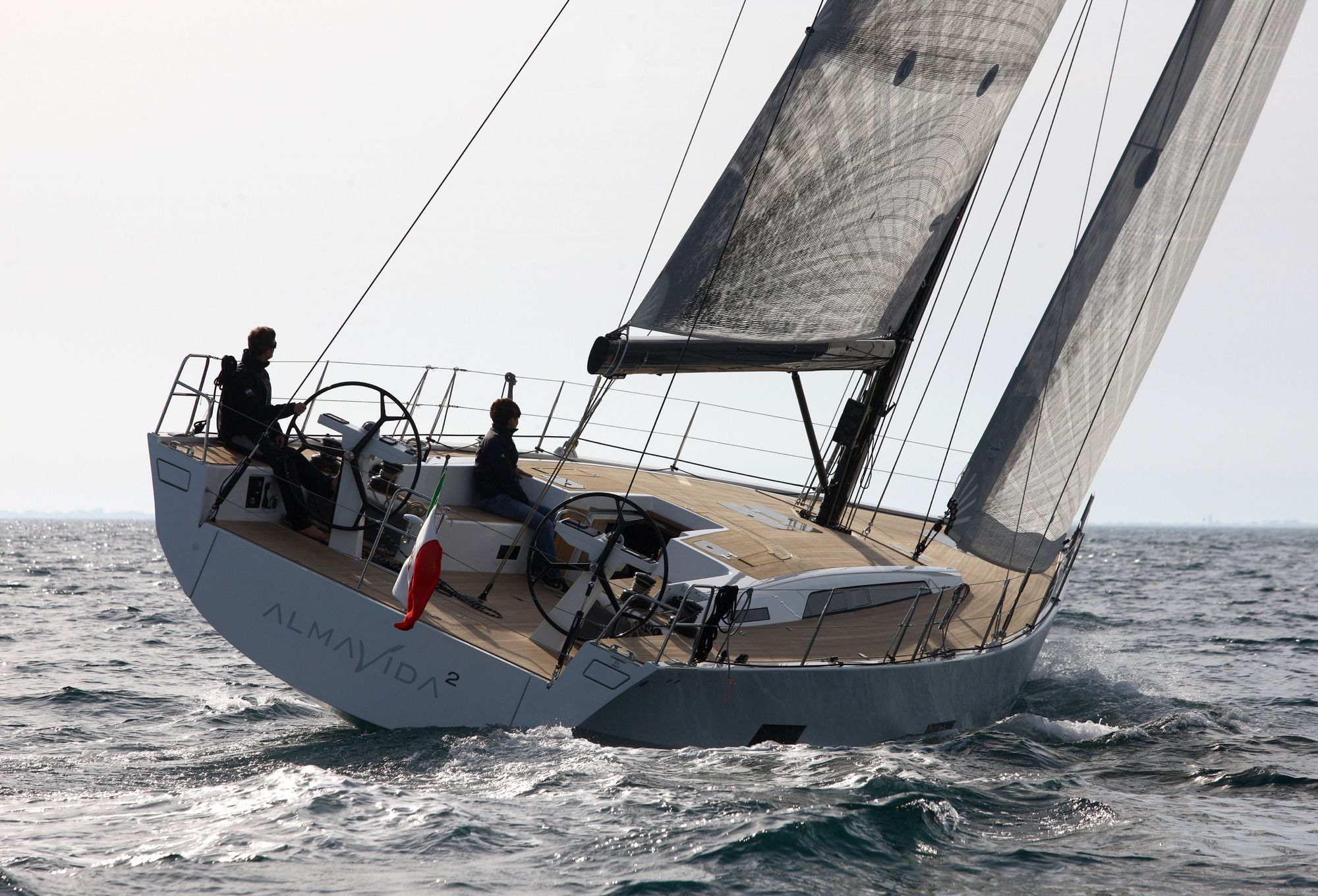 Solaris 50 Sunset Sailing Sailing Yacht Yacht Sailing