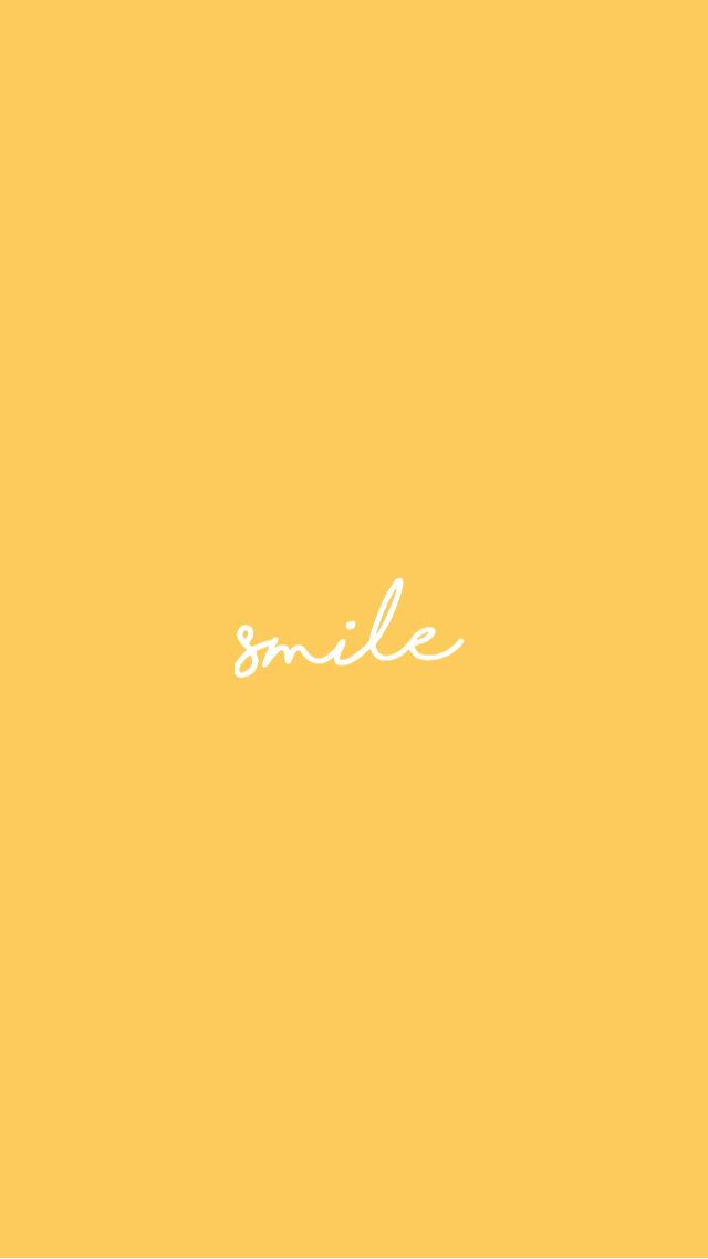 Yellow Smile Background Follow Shannon Shaw For More Like This Iphone Wallpaper Yellow Backgrounds Phone Wallpapers Wallpaper Iphone Quotes
