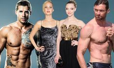 Man behind the bodies of Jennifer Lawrence and Hugh Jackman reveals how to get in shape | Daily Mail Online