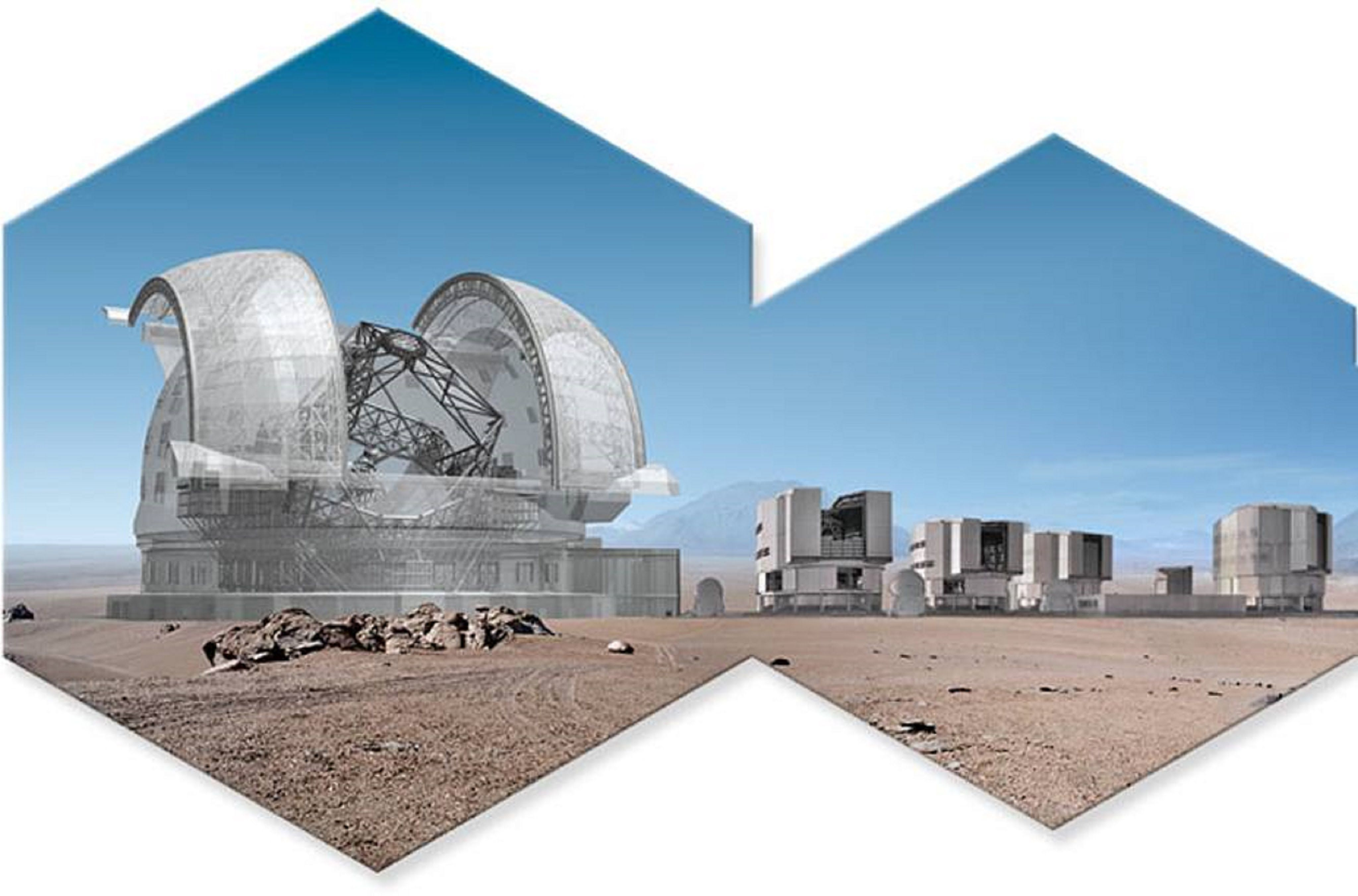 European Extremely Large Telescope (E-ELT) size comparison ...