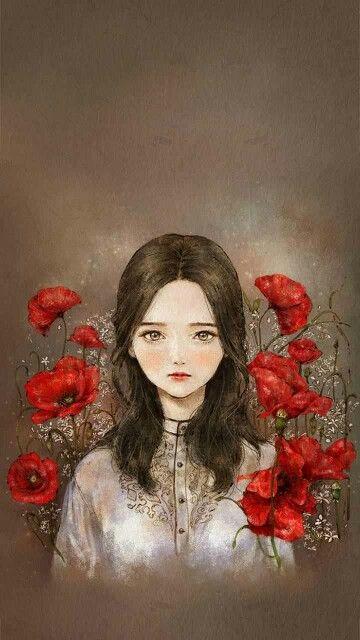 붉은양귀비꽃여인 주소진