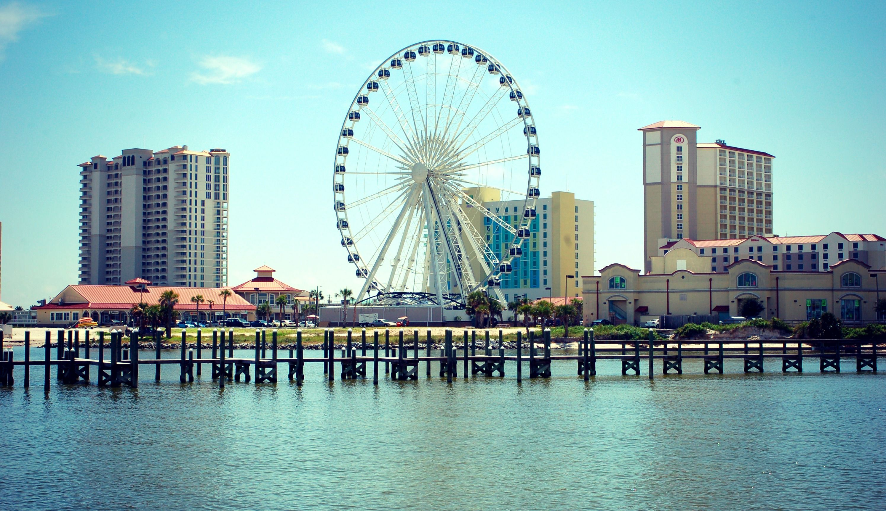 Pensacola Beach Florida This Is Our New Ferris Wheel