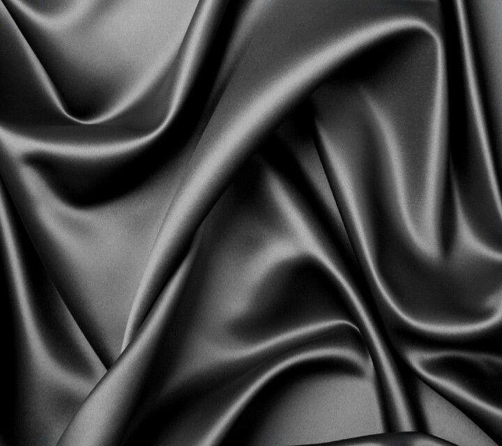 Black Silk Material