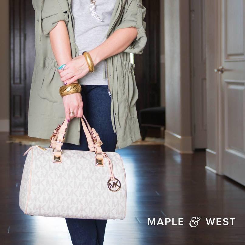 MK bag.