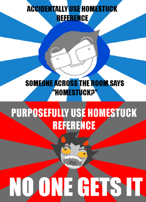 homestuck, reference