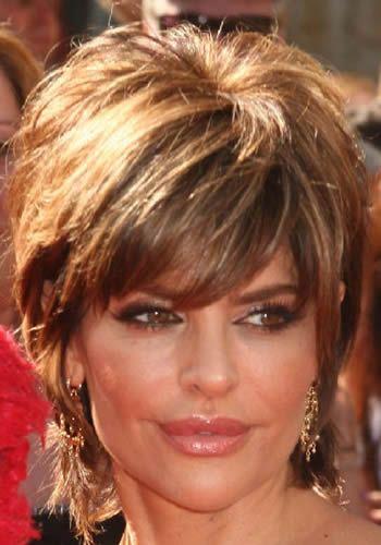 Best Short Haircuts Actresses : Short shag haircuts front and back actress lisa rinnas short