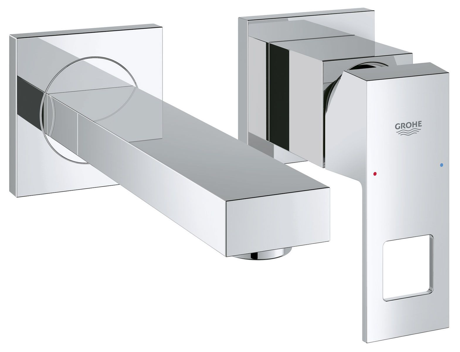 Robinet Mural Grohe Eurocube Projet Maison Bathroom Cabinets Bathroom Collections