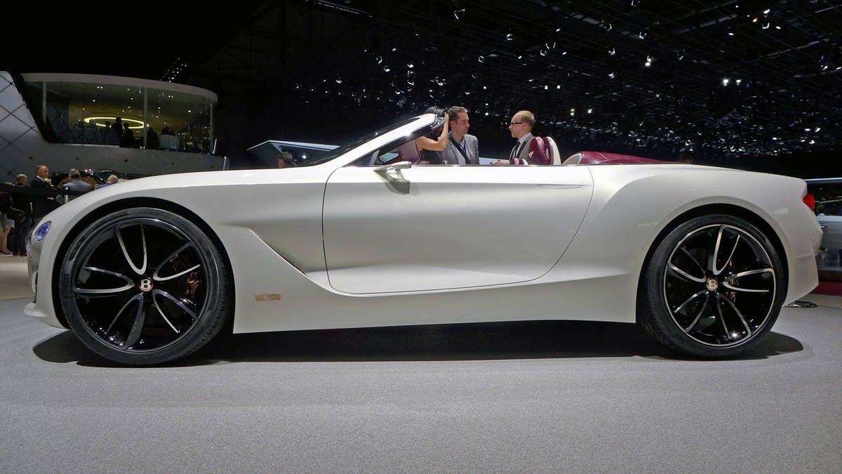 The Bentley Exp 12 Sd 6e Concept At Geneva Motor Show Photo 3
