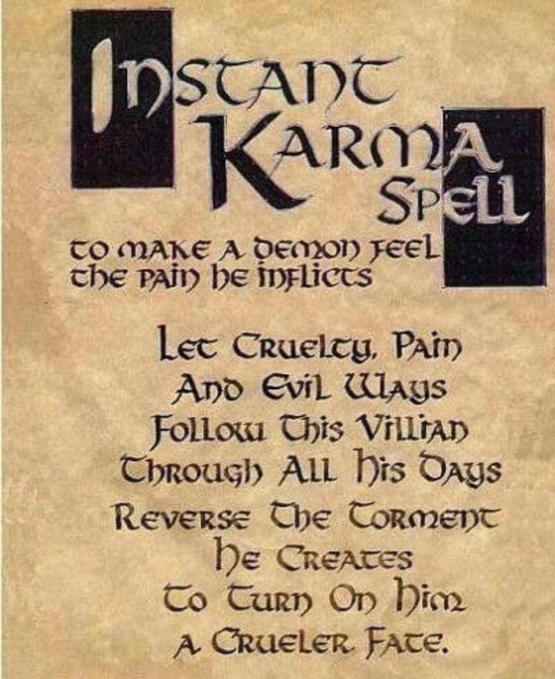 Wiccan Spells, Karma Spell, Book