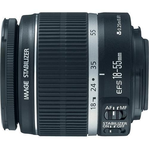 Canon Ef S 18 55mm F 3 5 5 6 Is Ii Standard Zoom Lens Black 2042b002 Best Buy Zoom Lens Standard Zoom Lens Slr Lens