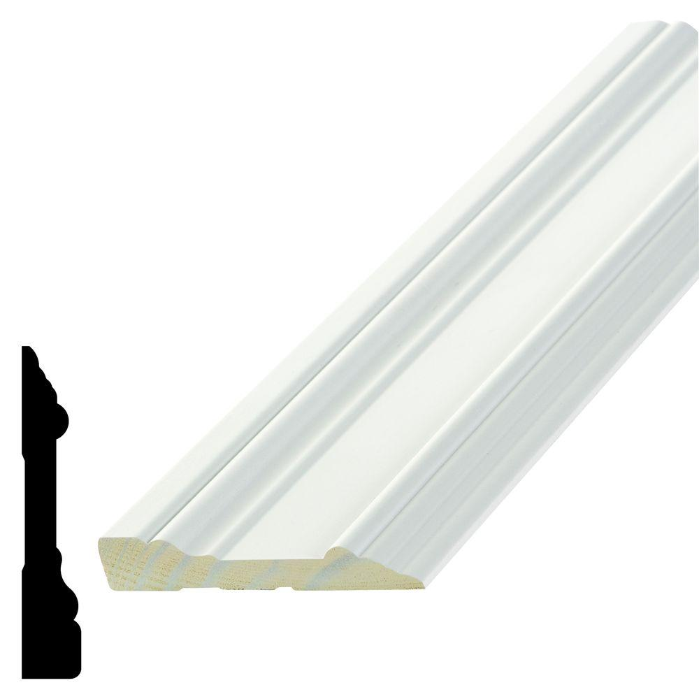 Alexandria Moulding Wp 7715 5 8 In X 3 1 2 In X 96 In Primed Pine Finger Jointed Casing H7715 93096c The Home Depot Led Recessed Ceiling Lights Window Molding Pine Interior Doors