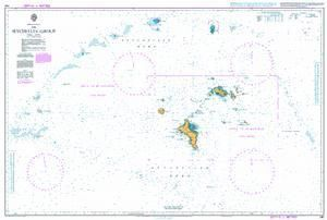 British Admiralty Nautical Chart 740: The Seychelles Group