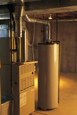 How To Convert An Electric Water Heater To Solar Solar Water Heater Low Ceiling Basement Solar Water