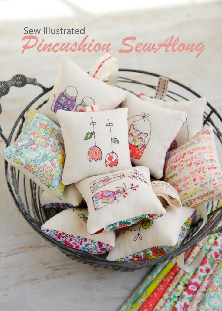 Pincushion 2017 SewAlong – Minki\'s Work Table | things to make ...