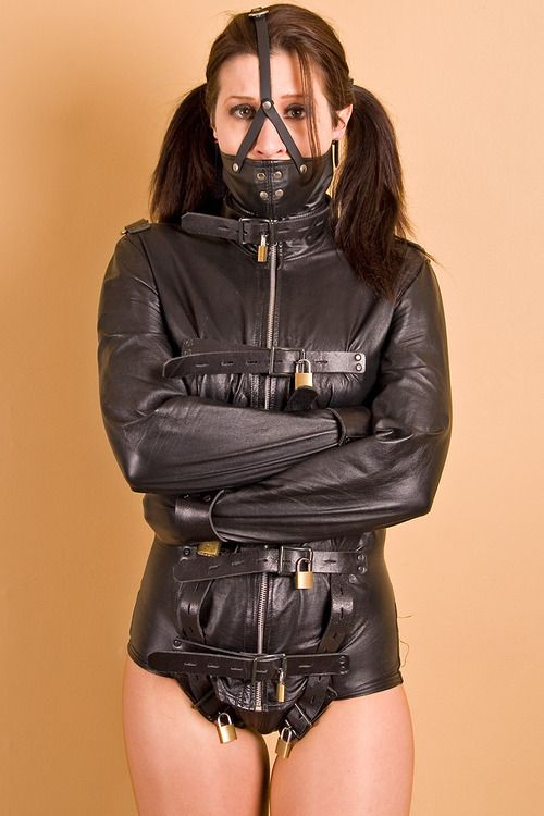 putmeinherplace: Lots of leather, plenty of padlocks, you can't ...