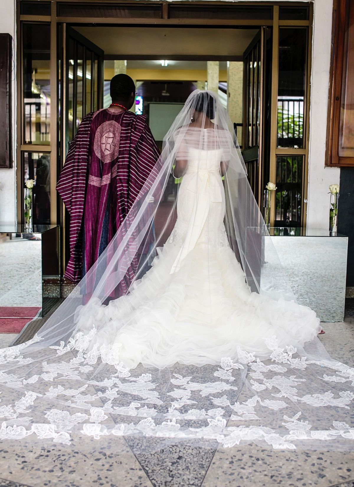 Modern Lagos Wedding at Ruby Gardens, Nigeria