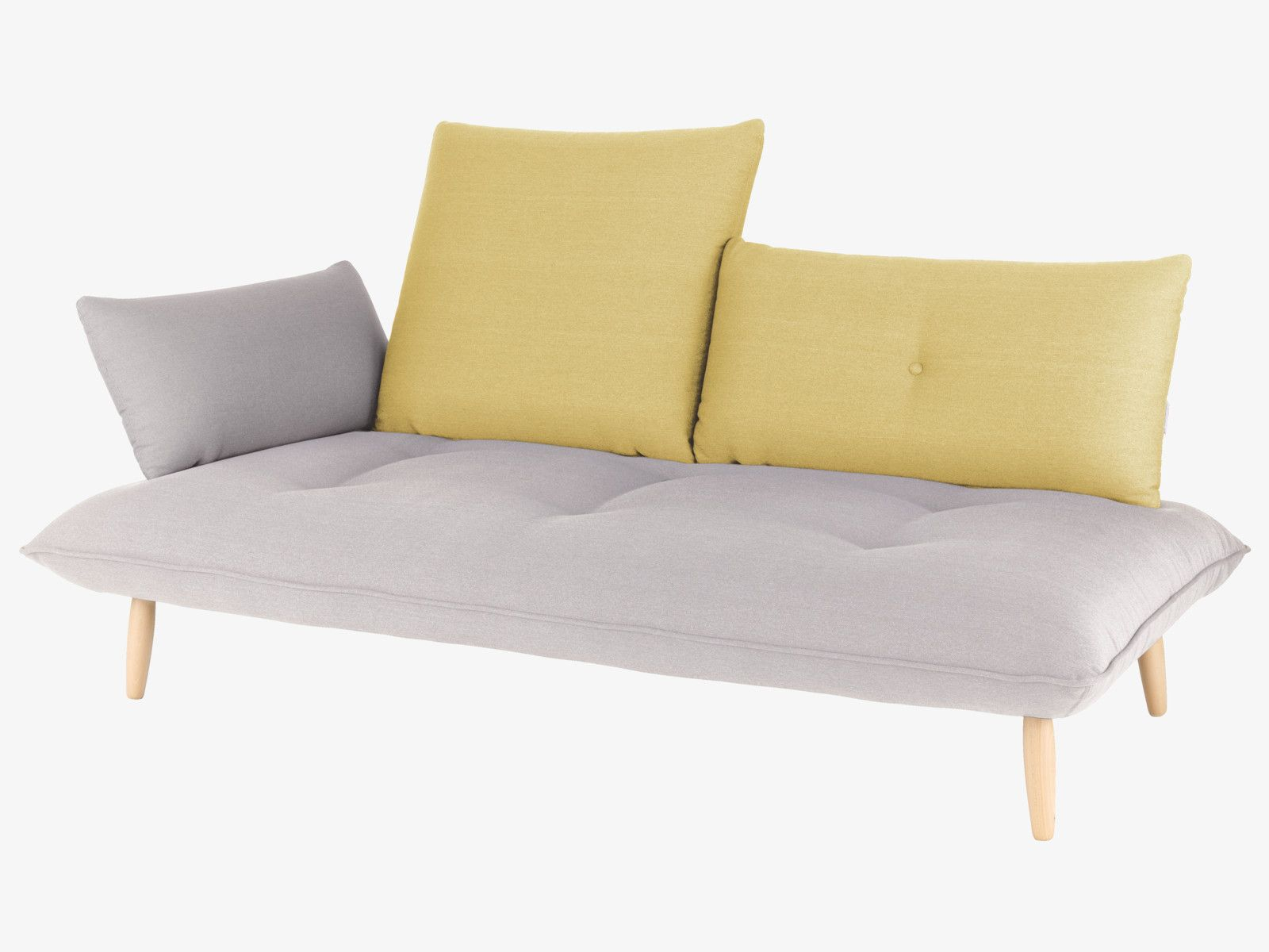 The Naoko Grey And Yellow Left Arm 3 Seater Sofa Is A Unique Design That  Encourages Complete Relaxation And Comfort. Buy Now At Habitat UK. Good Ideas