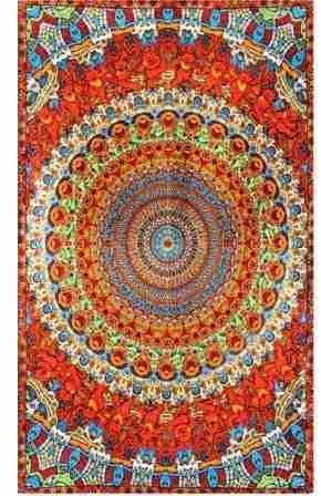 Grateful Dead Mandala Dancing Bears Tapestry 29 99 In An Indian