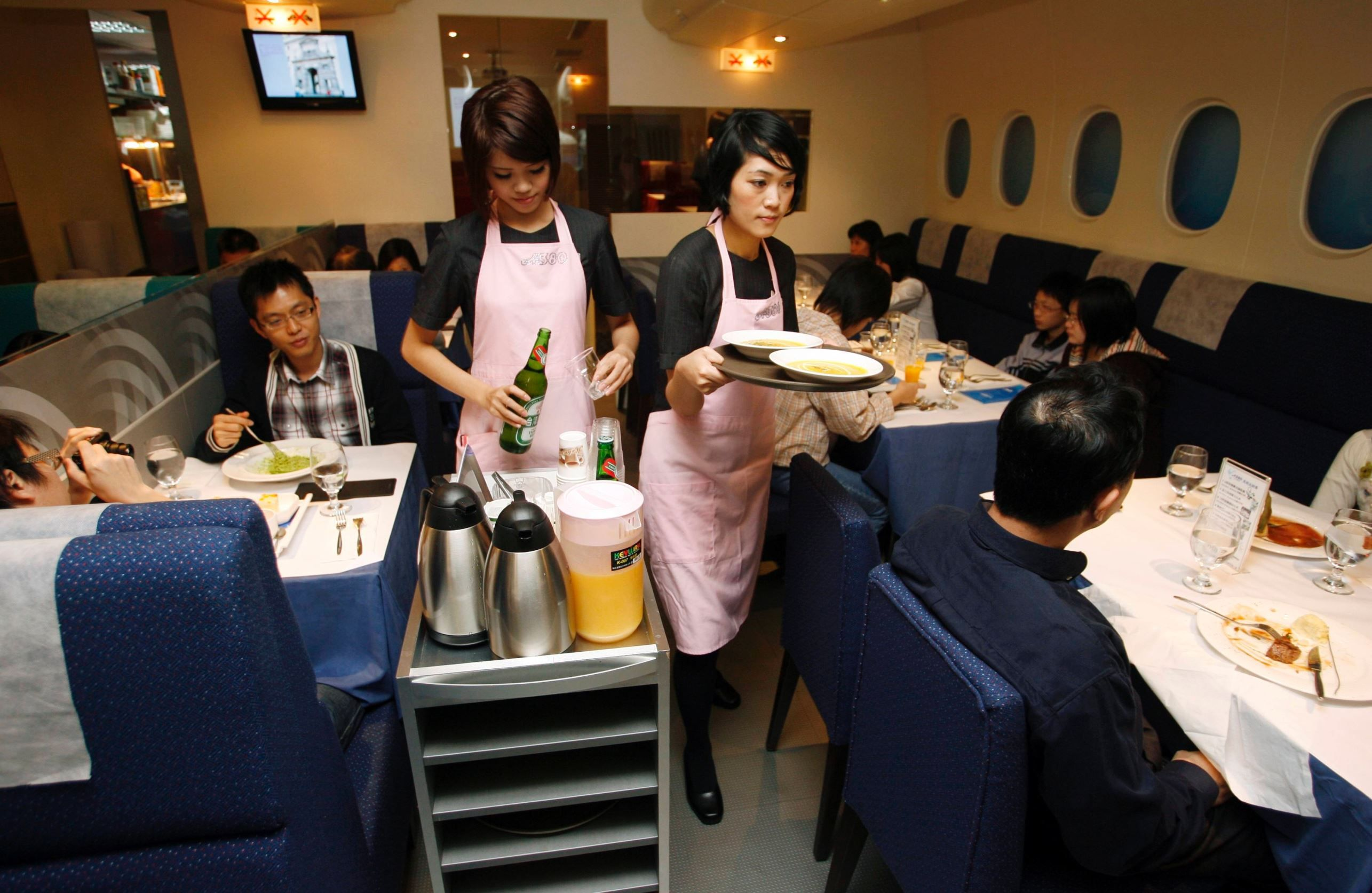 Image result for A380 In-Flight Kitchen
