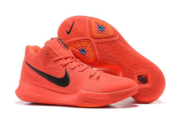 nike kyrie 3 amazing nike kyrie 3 fluorescent red black shoe