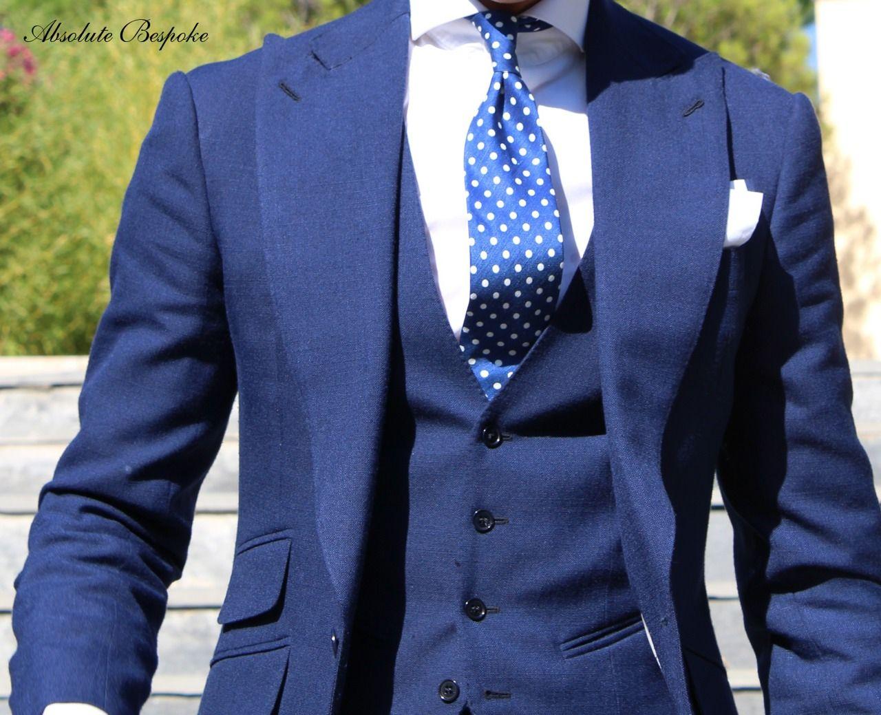 T pattern summer suit by Absolute Bespoke www.absolutebespoke.com ...