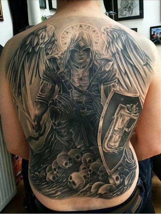Fotos De Tatuagem De Poderoso Guerreiro Tatoo Tatuagem