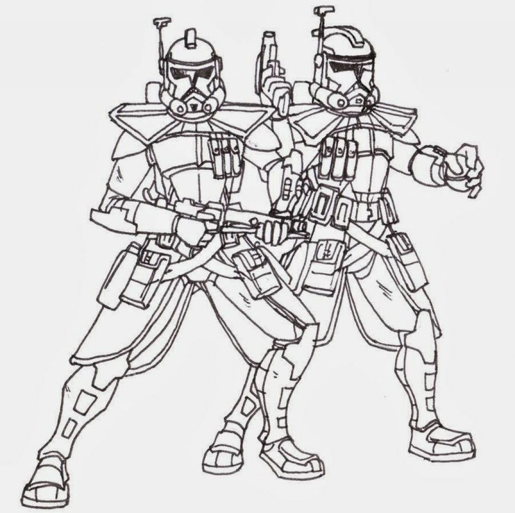 1000 About Coloring Pages For Star Wars Pinterest with Clone Trooper Coloring Pages with