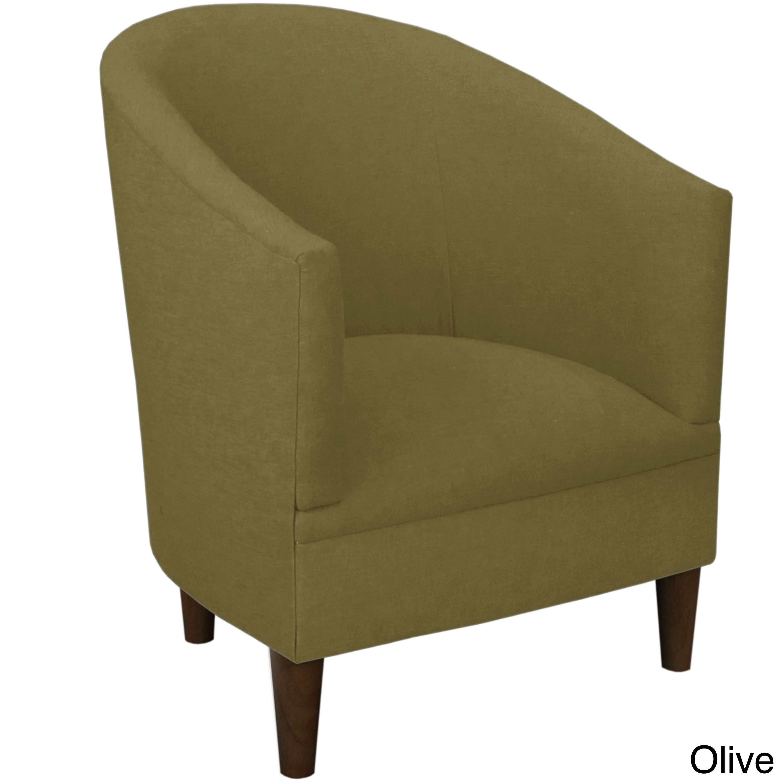 Skyline Furniture Linen Fabric Modern Accent Chair (Linen French ...