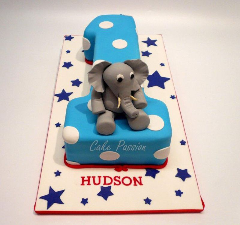 Cb161 1st birthday elephant with images elephant