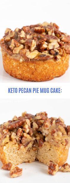 KETO PECAN PIE MUG CAKE: #Keto#Mug Cake#Pecan #mugcake ...