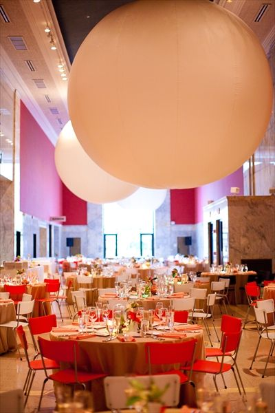 My Wedding Reception Venue - the Big Red Room at the children's museum
