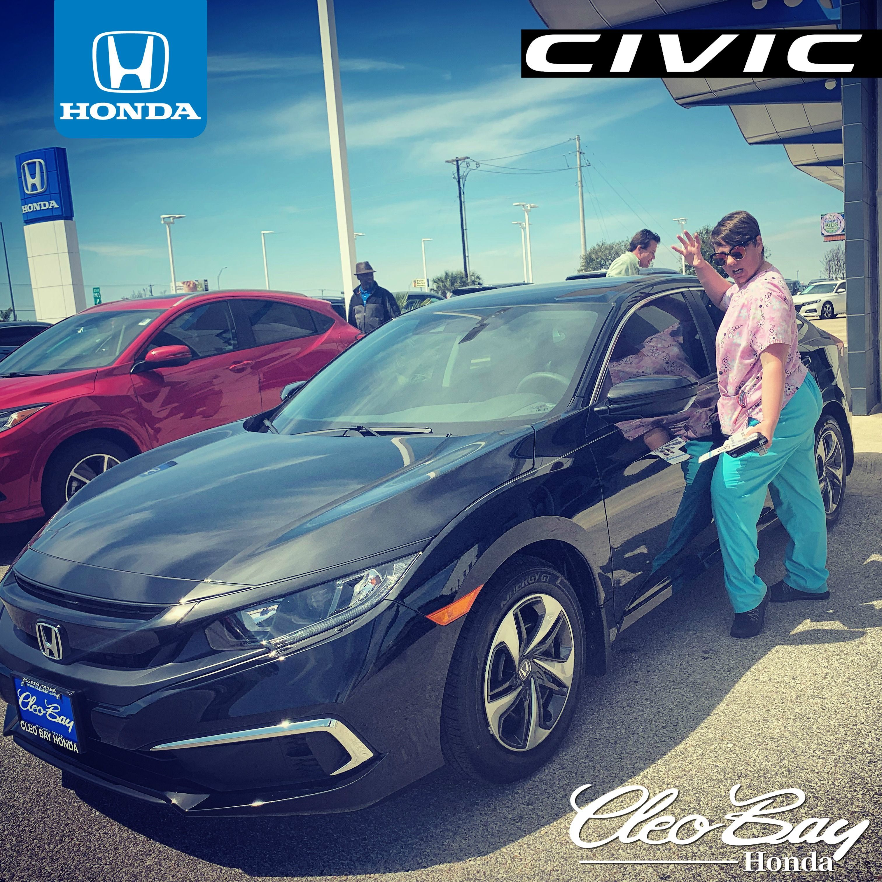 Cleo Bay Honda >> Congratulations Tauni On Your Recent Purchase Of A New 2019 Honda