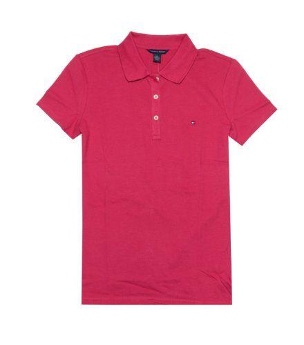 42d2656c Tommy Hilfiger Women Classic Fit Logo Polo T-Shirt $26.99 | Clothes ...