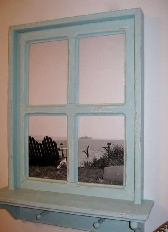 I Need A Faux Window For My Windowless Office. This Is Cute!