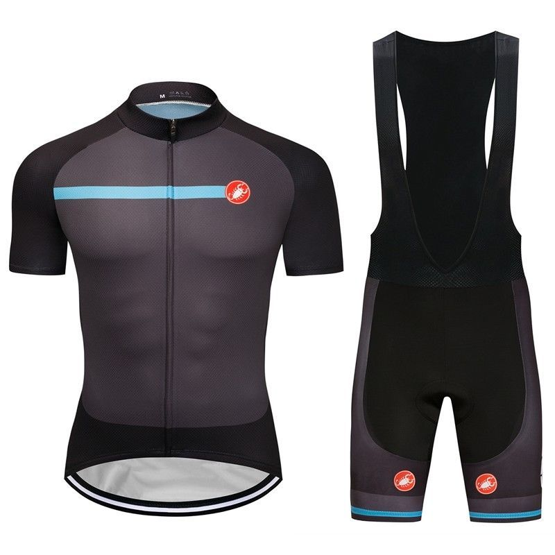 2018 New Men s Cycling Outfits Jersey Team Pro Bib Shorts Kits Shirt Pad  Tights  Rainsports 3b24c0857