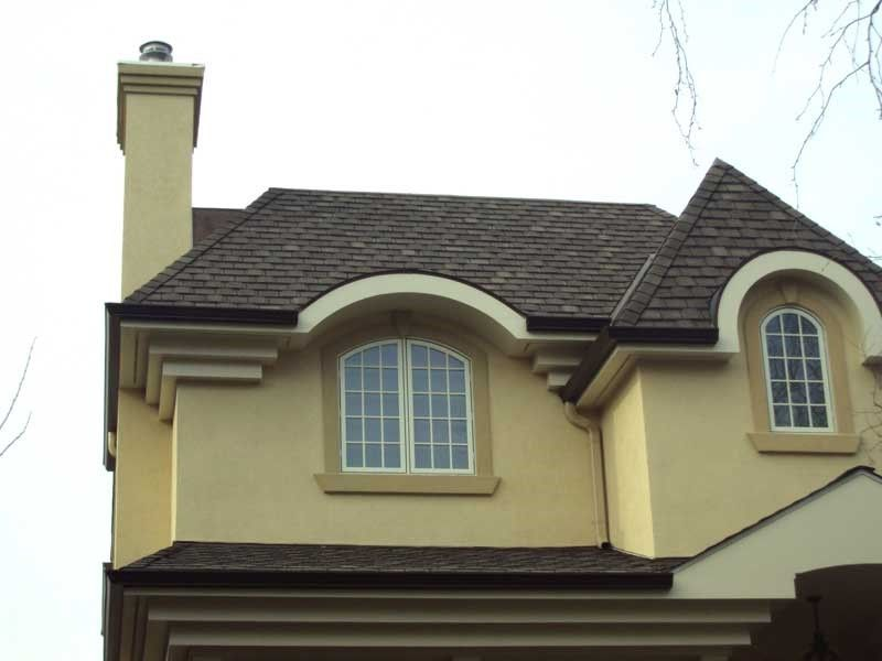 Eifs and stucco are both great options for your quality exterior if youre