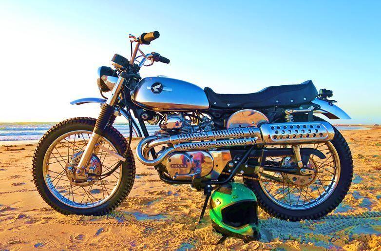Ebay 1972 Honda Cl Honda Cl175 Scrambler Street Tracker Cafe Racer Enduro Dual Sport Vintage Motorcy Cafe Racer For Sale Cafe Racer Classic Motorcycles