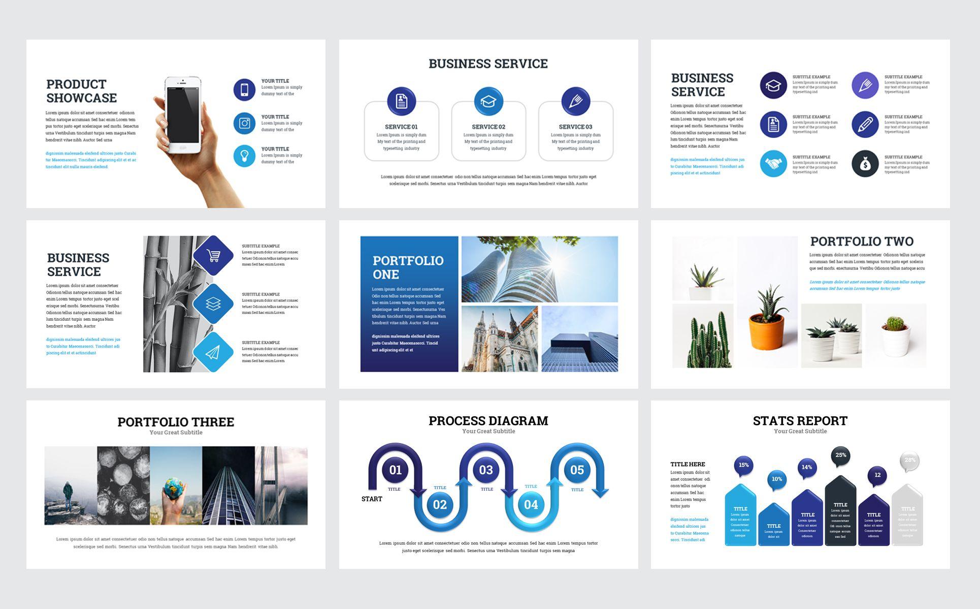 Brand Business Presentation Powerpoint Template Best Web Templates