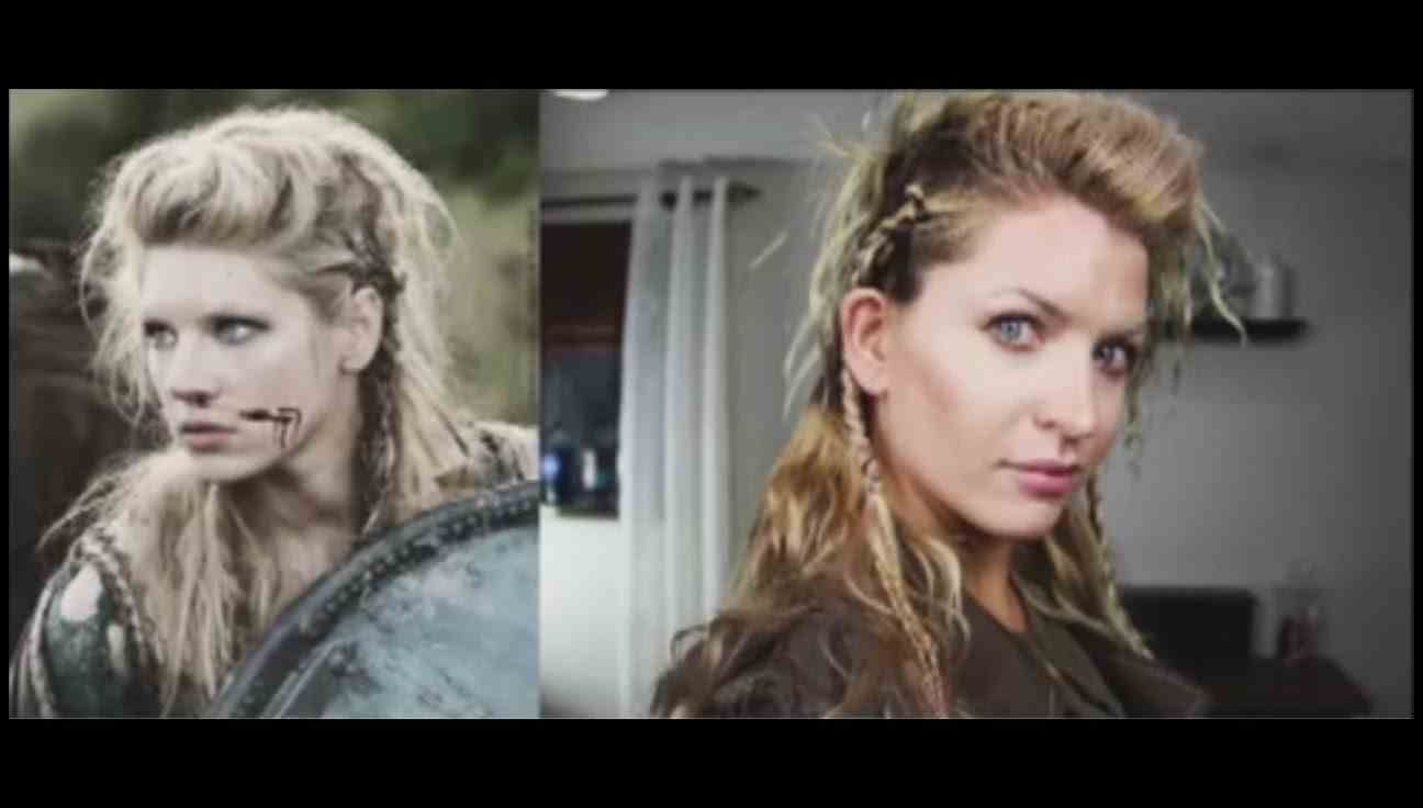 How To Do Lagertha S Hair In The Vikings Youtube Frisuren Frisuren Anleitung Frisuren Langhaar