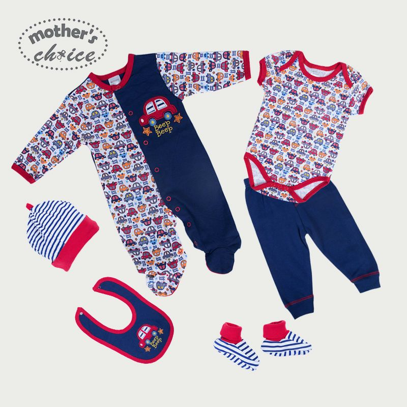 >> Click to Buy << Mother's Choice 100% cotton Baby long-sleeve rompers set 6-in-one Free shipping #Affiliate