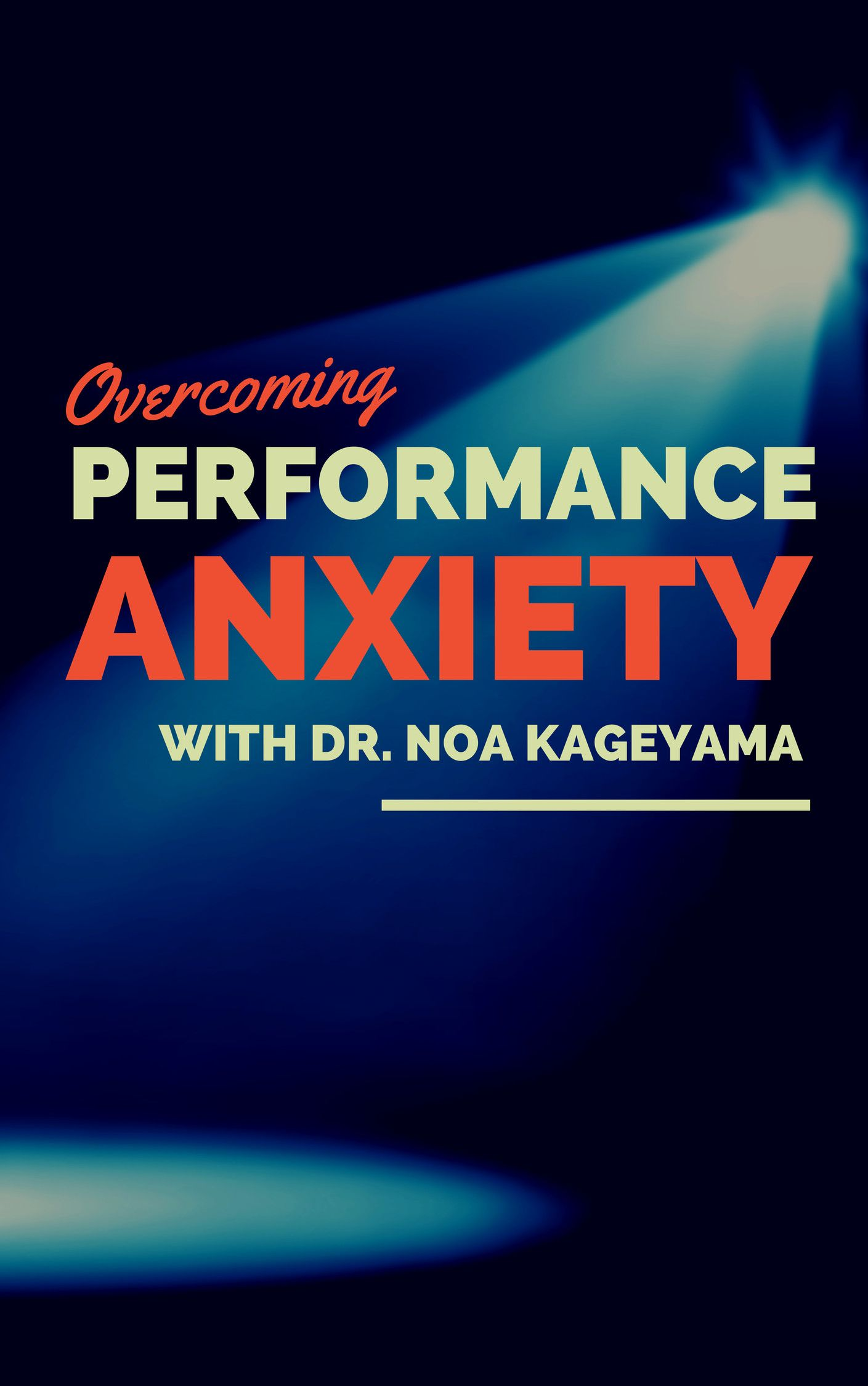 overcoming performance anxiety at work