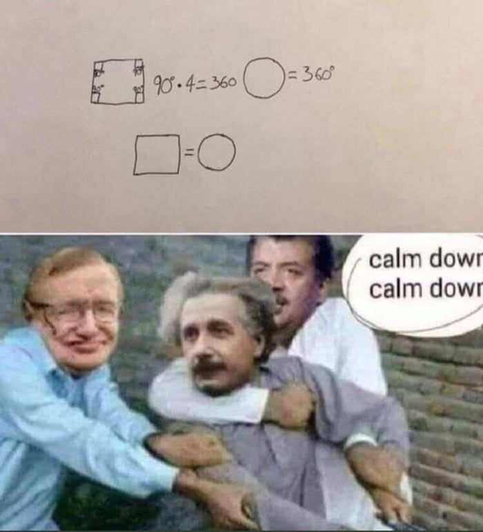 Chill Einstein! CHILL!