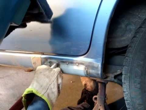 How To Weld Rust Patch Secrets Revealed Auto Body