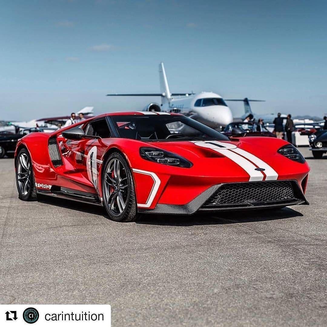 Ford Fordgt Carintuition Supercar Hypercar Sportscar Sportscars