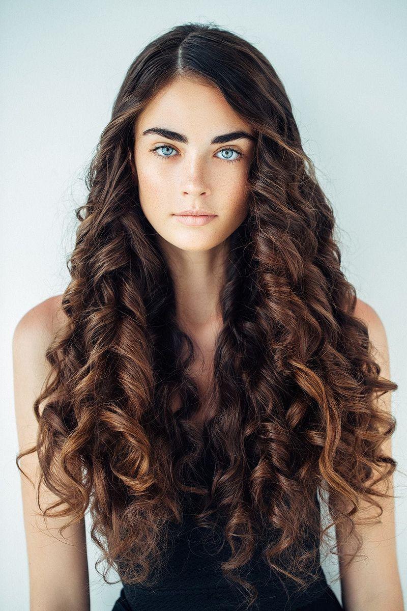 30 curly hairstyles that you want to copy curls for long