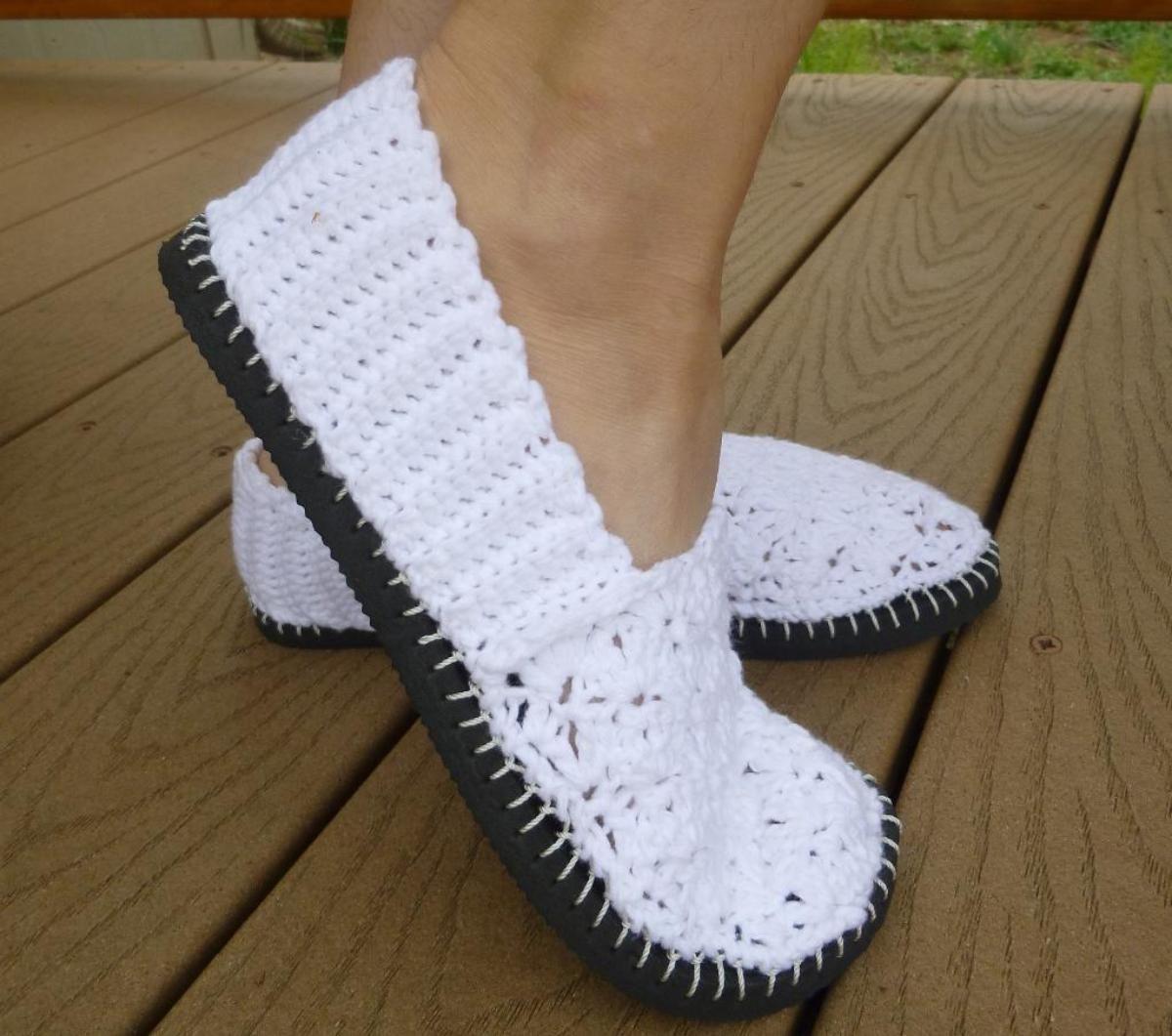Crochet Flip Flop Flats | Zapatos tejidos, Sandalias y Tejido