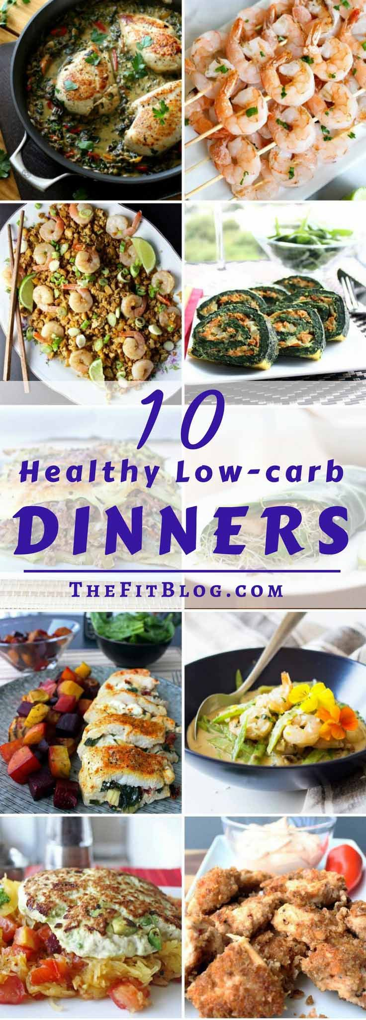 10 Healthy Low-Carb Dinner Recipes – My favorite diabetes friendly and easy…